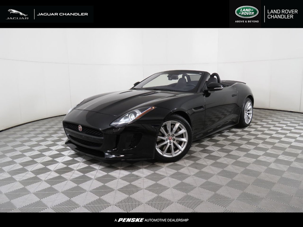 Pre-Owned 2017 Jaguar F-TYPE Convertible Automatic Premium