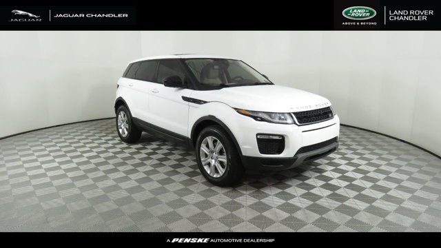 Certified Pre Owned 2019 Land Rover Range Rover Evoque Courtesy