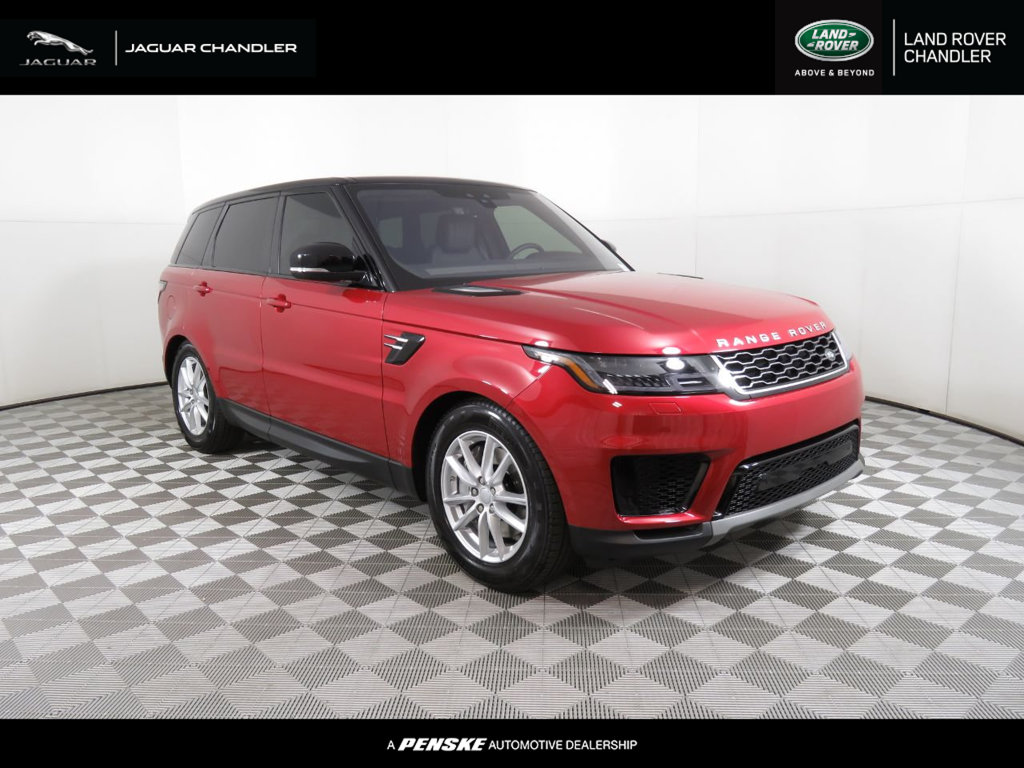 New 2019 Land Rover Range Rover Sport Turbo i6 MHEV SE
