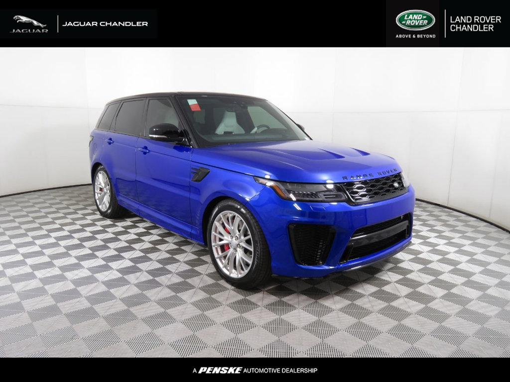 New 2019 Land Rover Range Rover Sport V8 Supercharged SVR