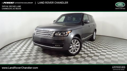 Certified Pre-Owned 2016 Land Rover Range Rover 4WD 4dr HSE