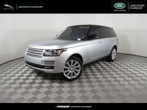 Pre-Owned 2016 Land Rover Range Rover 4WD 4dr Supercharged LWB